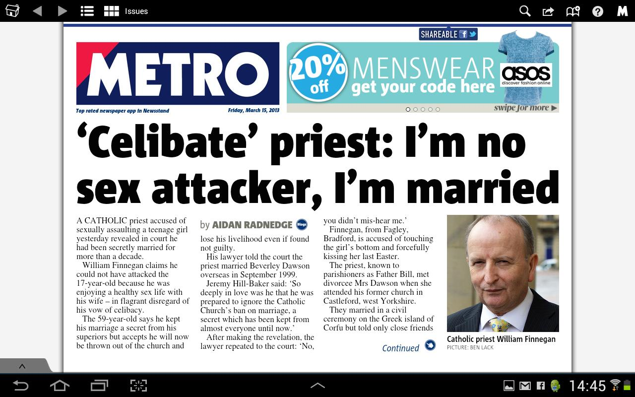 Metro Digital Edition- screenshot