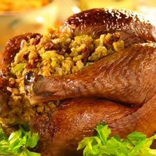 Turkey and Cornbread Stuffing with Sun-Dried Tomatoes