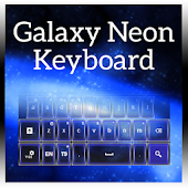 Galaxy Neon Keyboard