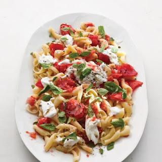 Tomato and Basil Pasta.