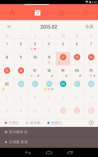 【免費生活App】吻私 (Once,女生經期管理應用)-APP點子