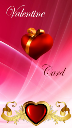 Valentine photo card