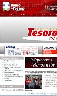 Banco del Tesoro - screenshot thumbnail