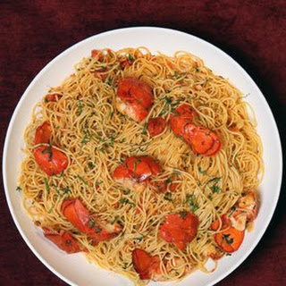 David Pasternack's Spaghetti with Lobster and Chiles.