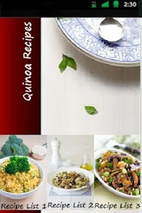 Quinoa Recipes - screenshot thumbnail
