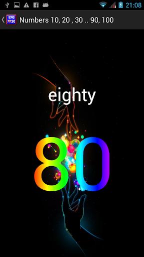 【免費教育App】Baby English Numbers-APP點子