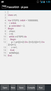 PascalGUI (Pascal compiler) v3.99