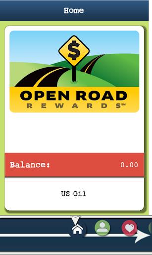 Open Road Rewards