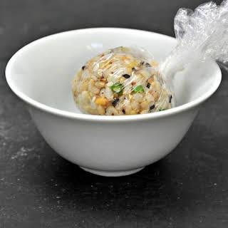 Brown Rice Sushi Balls.