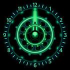 10 Green Neon Clocks icon