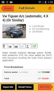 UK Car Hire- screenshot thumbnail