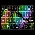 Rainbow Splatter Keyboard Skin icon