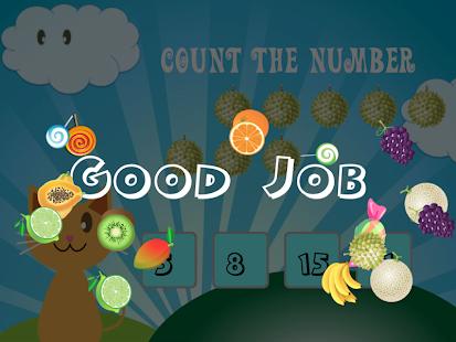 QCat - Toddler game : fruit - screenshot thumbnail