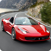 Ferrari 458 Live Wallpaper 3D