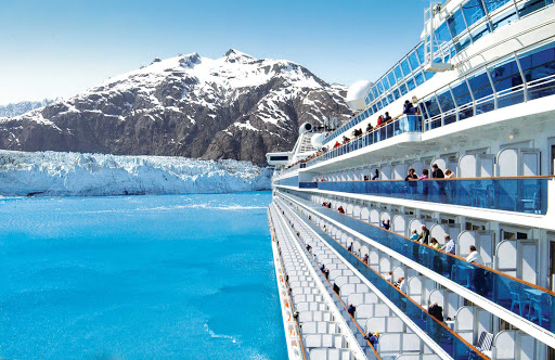 Glacier-Bay-National-Park-seen-from-Princess-2 - From your Princess ship you can take in the grandeur of Glacier Bay, 3.3 million acres of rugged mountains, dynamic glaciers, temperate rainforest, wild coastlines and deep sheltered fjords.