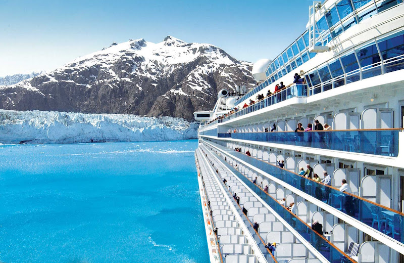 From your Princess ship you can take in the grandeur of Glacier Bay, 3.3 million acres of rugged mountains, dynamic glaciers, temperate rainforest, wild coastlines and deep sheltered fjords.