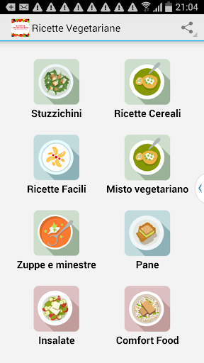 Ricette Vegetariane Italiane