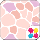 かわいい壁紙 Pastel Giraffe Pattern icon