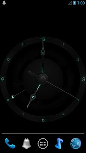 doubleTwist Swiss Clock - screenshot thumbnail
