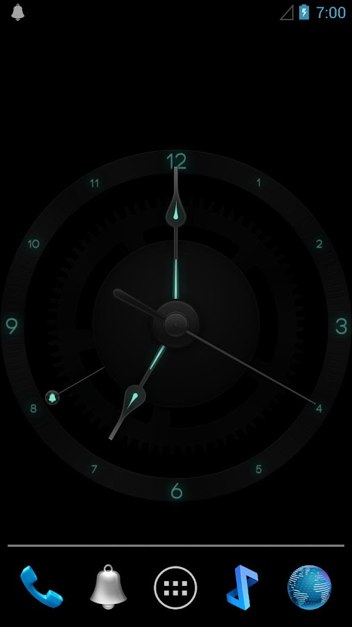 doubleTwist Swiss Clock- screenshot