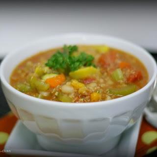 Hearty Vegetable Quinoa Chili.