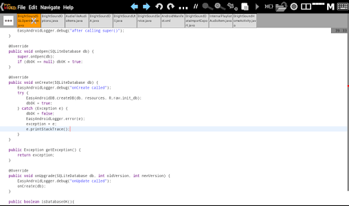 Bright M IDE: Java/Android IDE v2.1.0.001