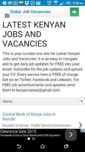 Kenyan Career