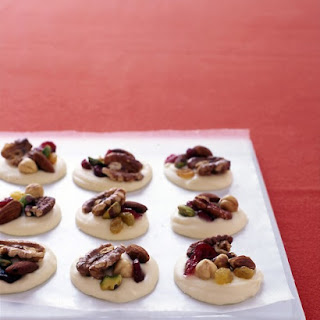 White-Chocolate Clusters with Fruit and Nuts