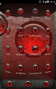Next Launcher Theme SteampunkR - screenshot thumbnail
