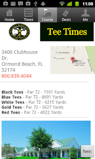 Halifax Golf Tee Times- screenshot thumbnail