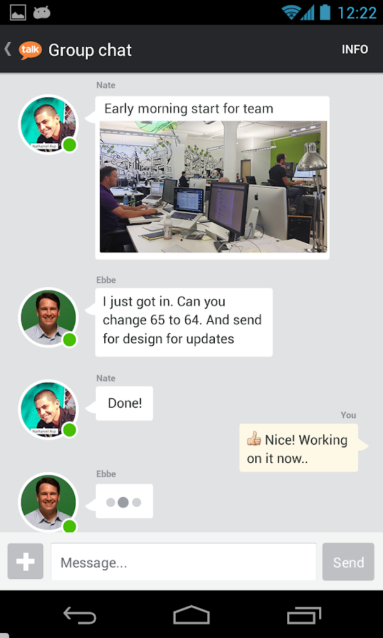 Talk.co - screenshot