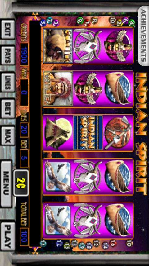 Indian Spirit Slot Machine- screenshot