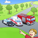 Amazing Cars - kids story book icon