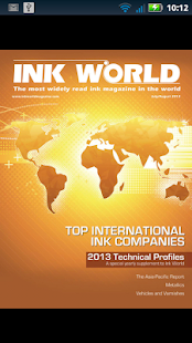 Ink World Magazine - screenshot thumbnail