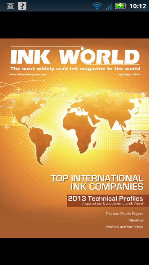 Ink World Magazine- screenshot