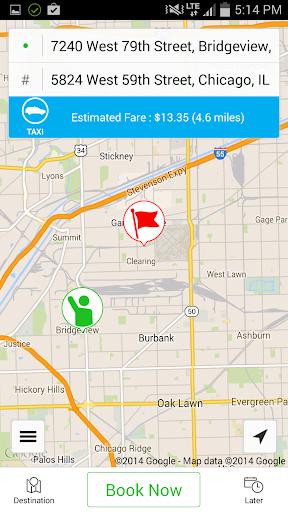 【免費交通運輸App】Blue Cab-APP點子