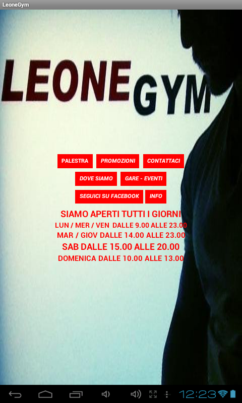 LeoneGym- screenshot
