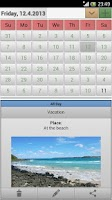 Screenshot of Easy Calendar