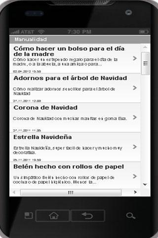Pasatiempos y actividades - screenshot