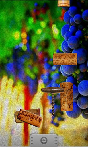 Vintage Wine Corks Wallpaper
