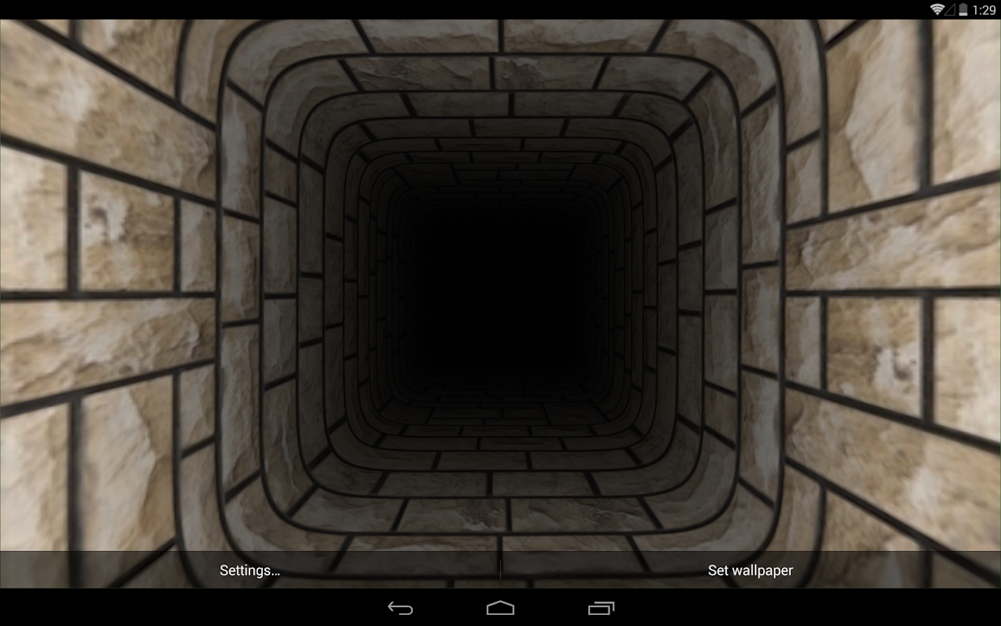 infinite tunnel 3d wallpaper - android apps on google play