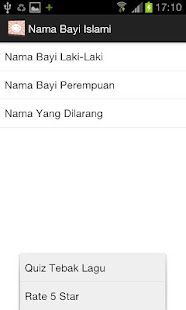 Nama Bayi Islami - screenshot thumbnail