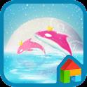 the starry night dodol theme icon