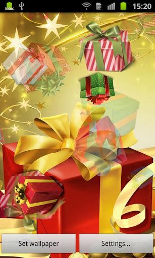 圣诞礼物 动态壁纸