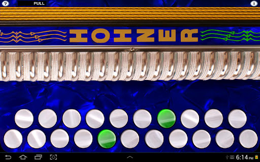 Hohner D G Button Accordion