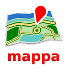 Dubai Offline mappa Map icon