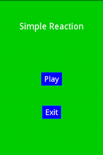 Simple Reaction
