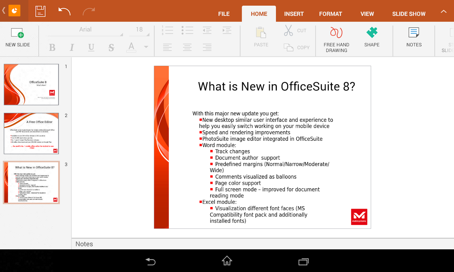 Phone Best Free Office Suite For Android Phones officesuite 8 free docomo android apps on google play screenshot