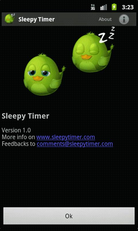 SleepyTimer Bedtime Calculator- screenshot