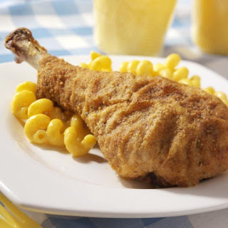 Oven-Fried Turkey Drumsticks